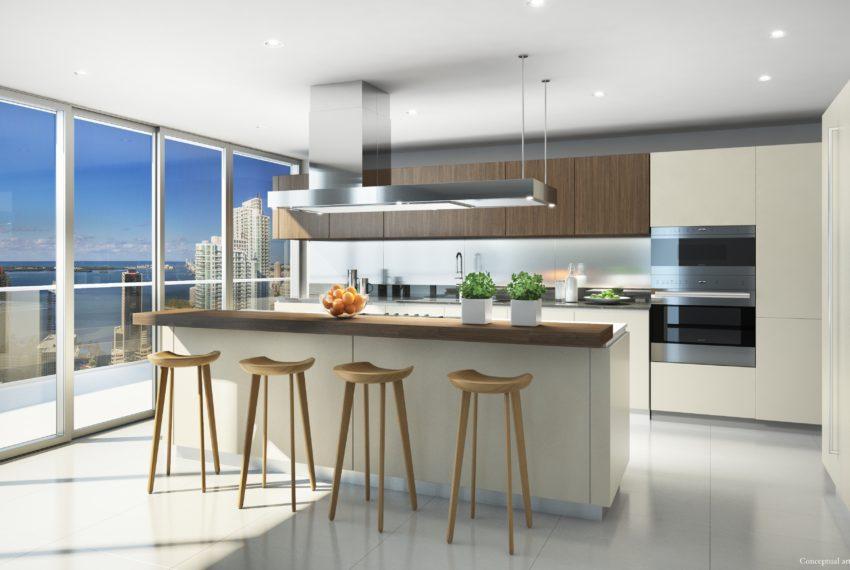 16 Penthouse Kitchen