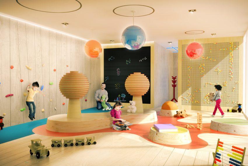 25 Children's Playroom