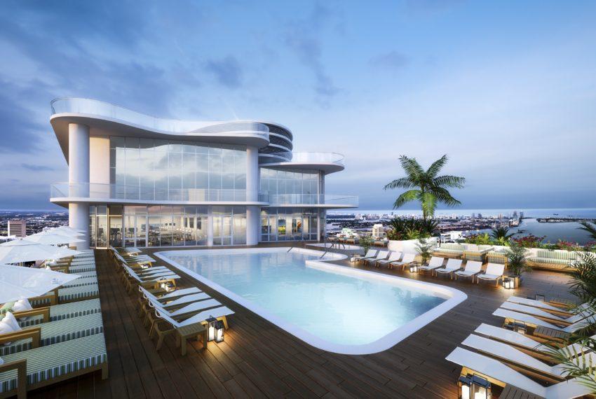 36 Rooftop Pool