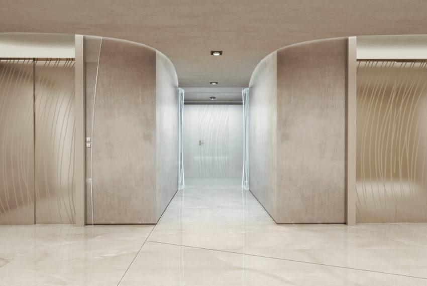 9 Elevator lobby